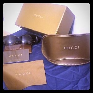 GUCCI with c.o.a tortoise shell sunglasses